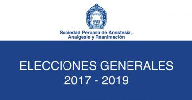 Elecciones Generales 2017 – 2019