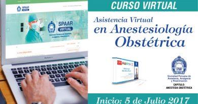 Curso Virtual – Asistencia Virtual en Anestesiología Obstétrica – Inicio 5 de Julio
