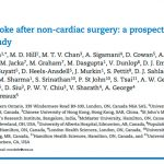 Covert stroke after non-cardiac surgery: a prospective cohort study