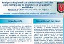 Analgesia Regional con catéter supraclavicular para reimplante de miembro en un paciente pediátrico