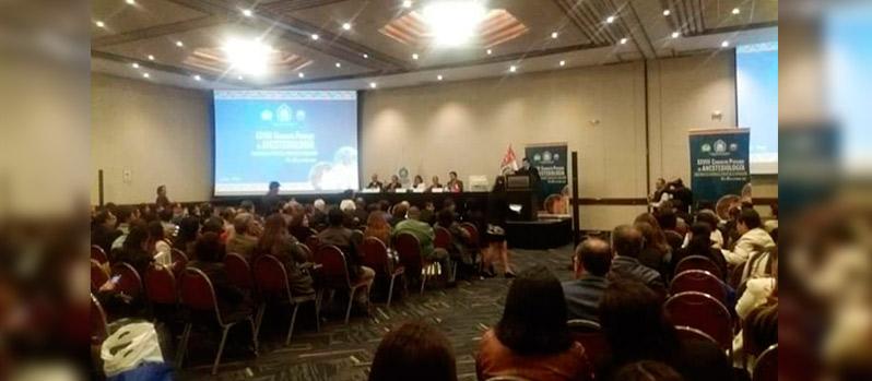 Se realizó Asamblea General de Asociados durante el XXVIII Congreso Peruano de Anestesiología