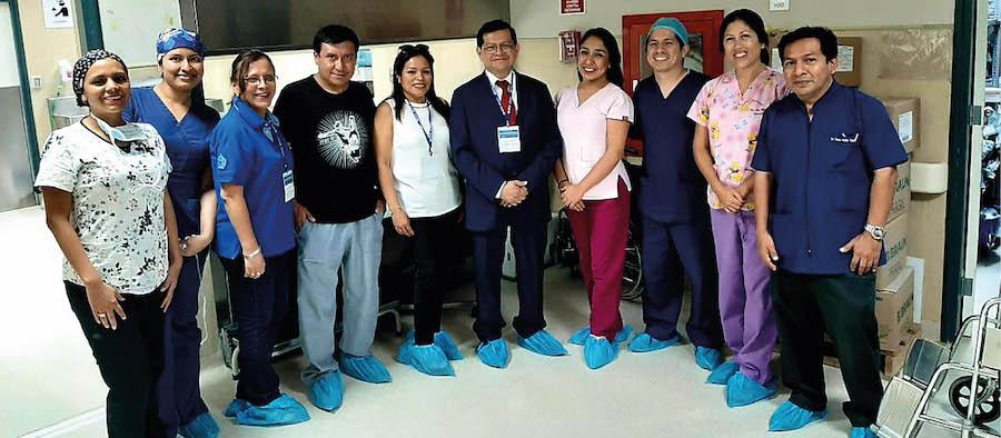 SPAAR visitó a los anestesiólogos trujillanos en sus hospitales